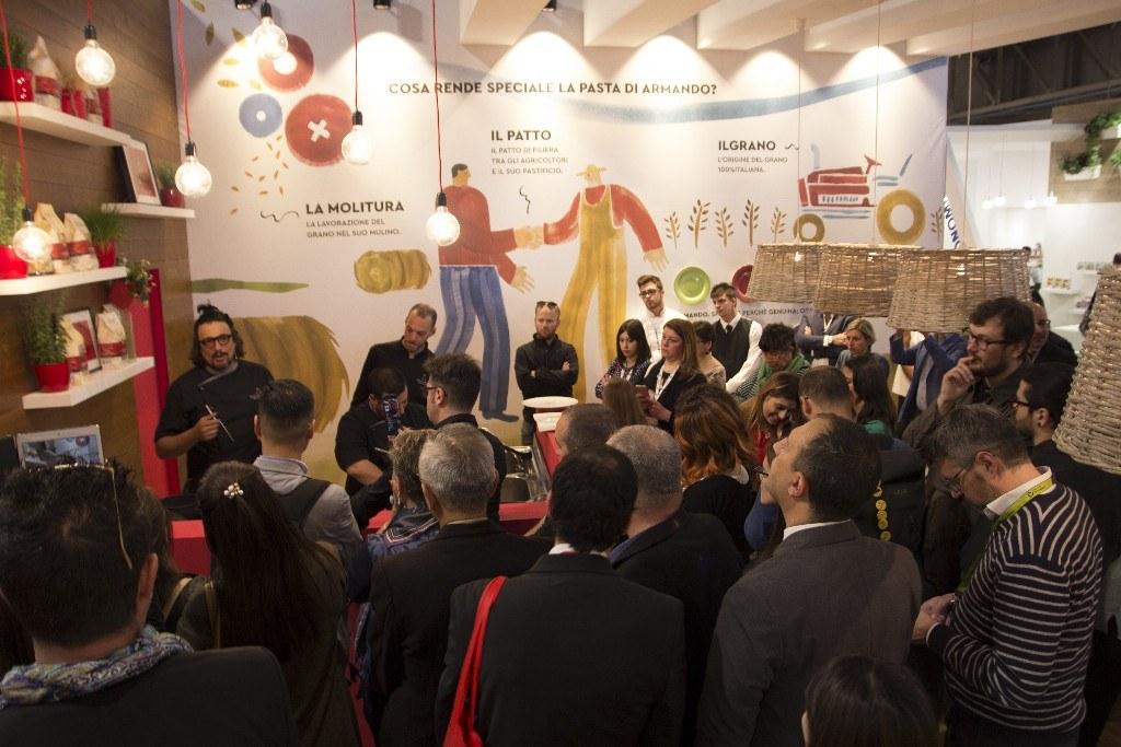 Grande successo per Pasta Armando a TuttoFood Milano