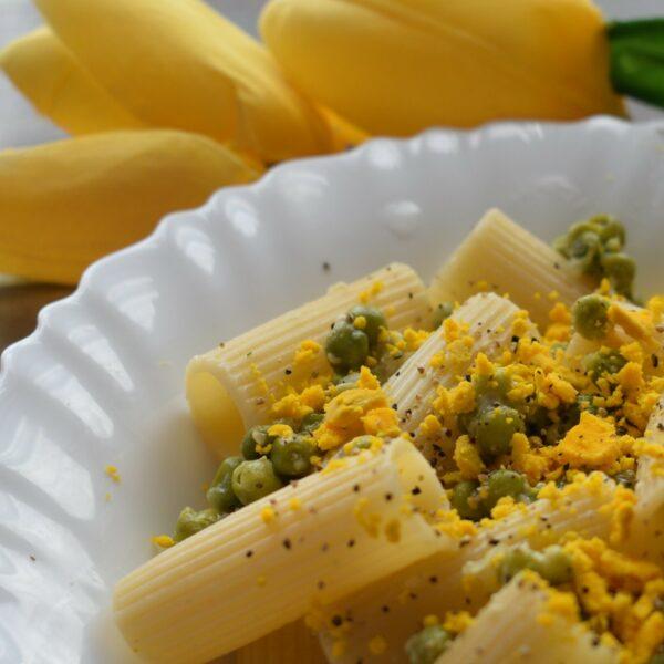 Pasta mimosa: una ricetta facile e veloce