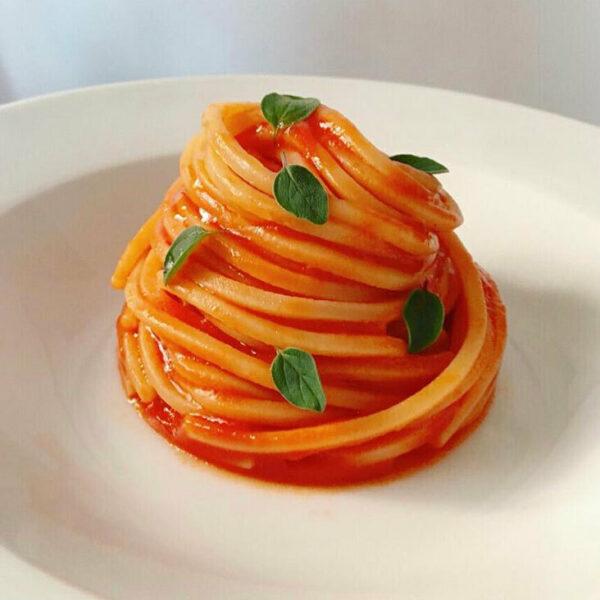 Spaghetti alla Chitarra al Pomodoro