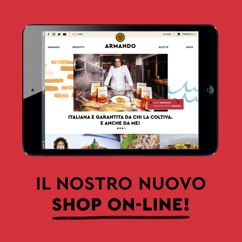 Il nostro E-shop è online!