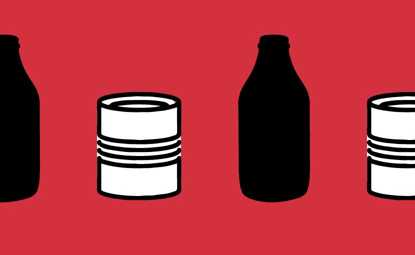 Latta bottiglia