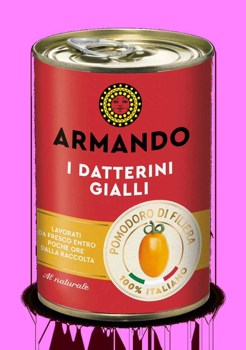 Armando 3 D latttina Datterini gialli 400g