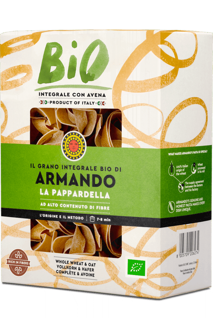Armando grano integrale bio pappardella