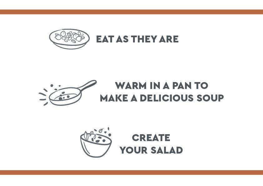 Icone grano lenticchie en