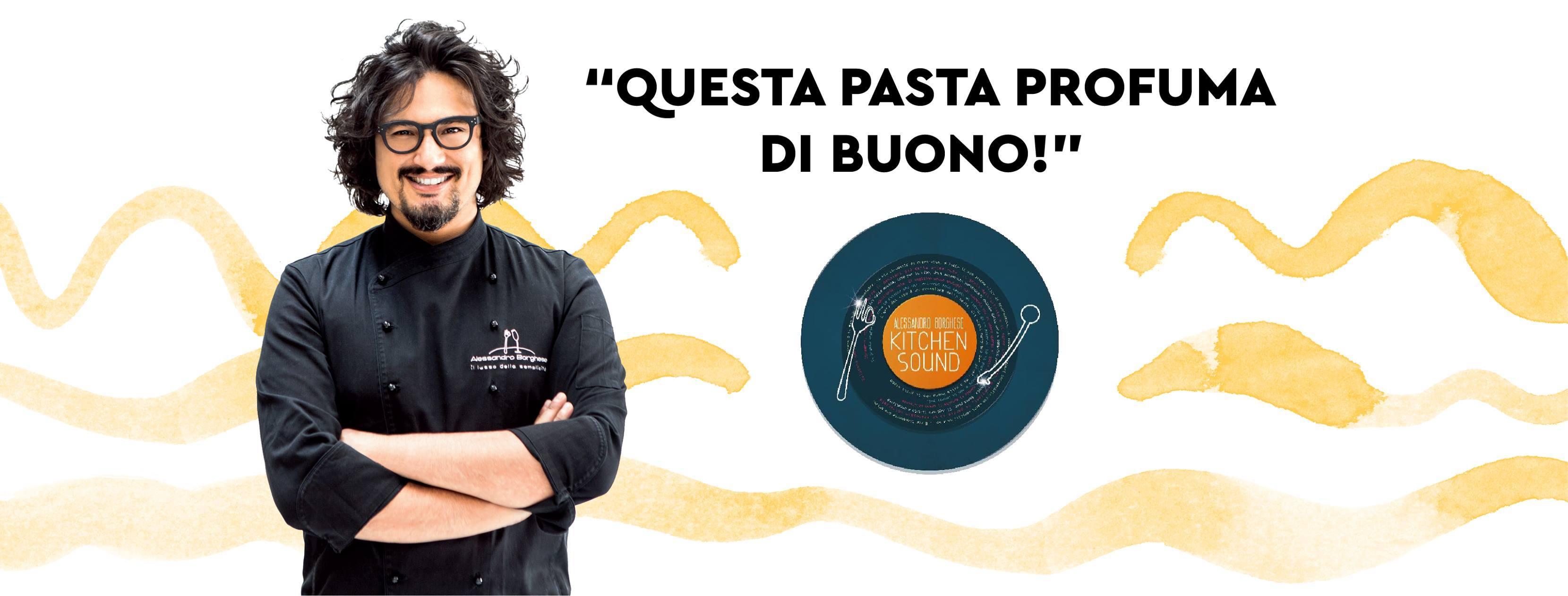 Al via la partnership tra Pasta Armando e chef Alessandro Borghese