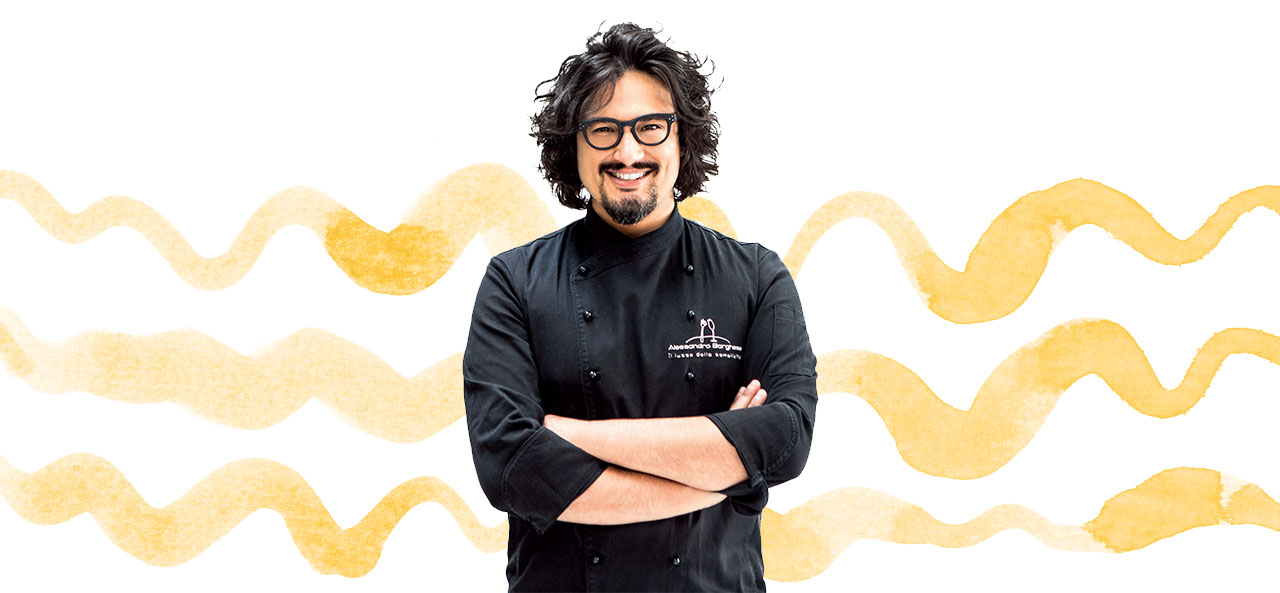 Alessandro Borghese, la famiglia e l'amore per la cucina: l'intervista su Giovani Genitori!