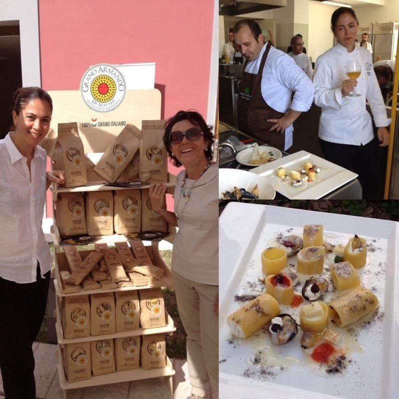 Grano Armando insieme agli chef del circuito Chic