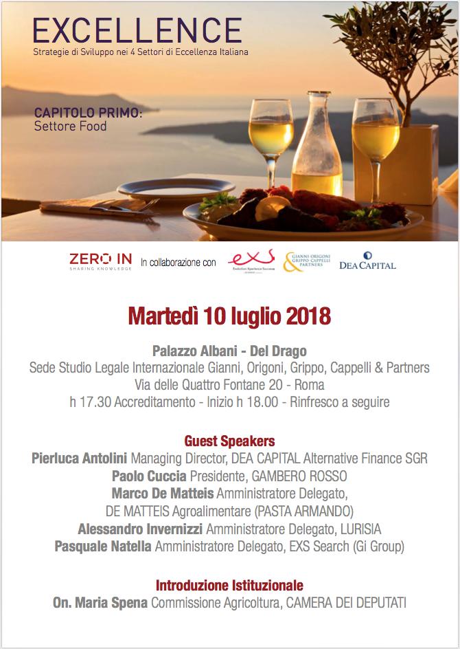 Il settore alimentare italiano conferma tassi di crescita dei ricavi superiori ai principali comparti del paese