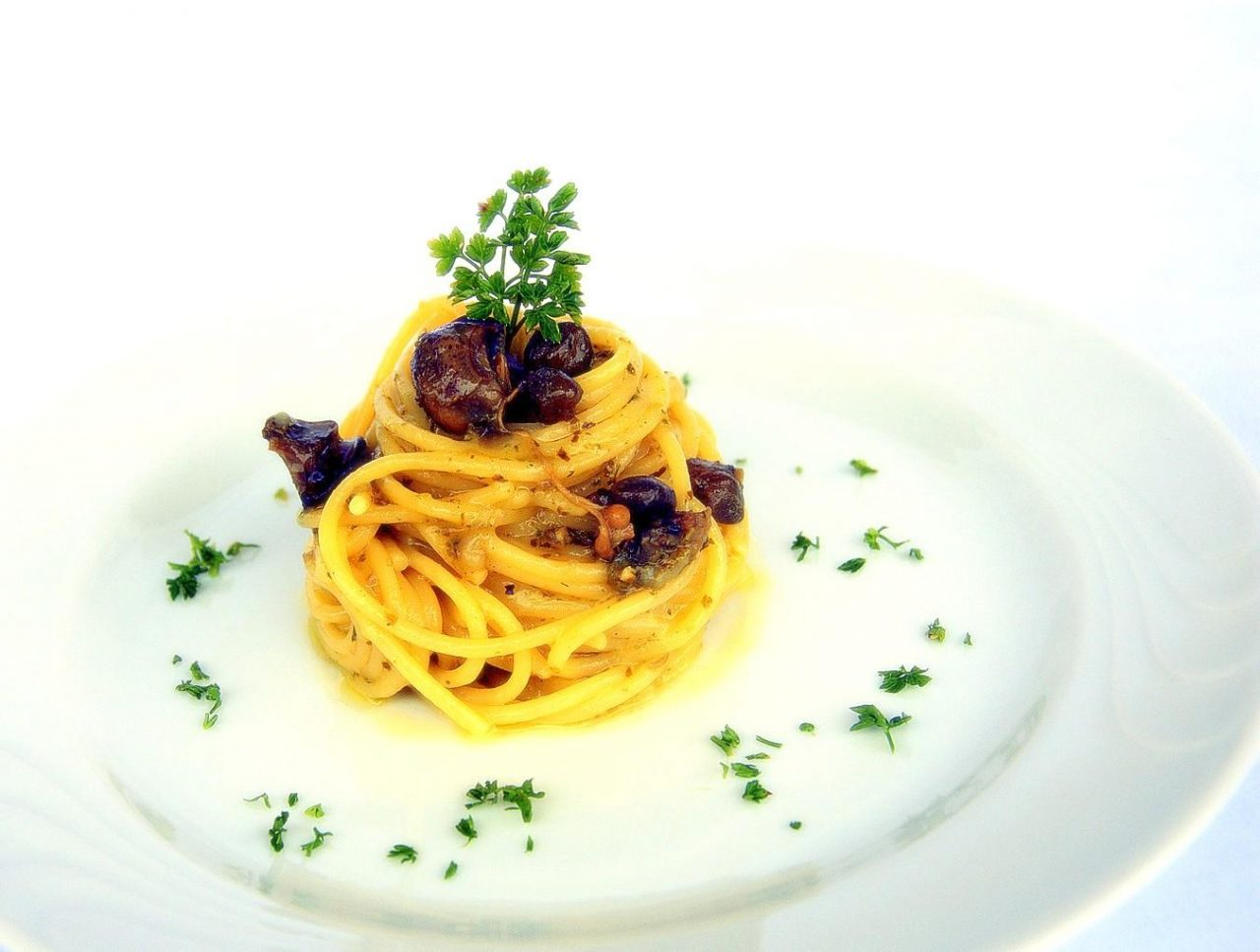 Spaghetti con le lumache