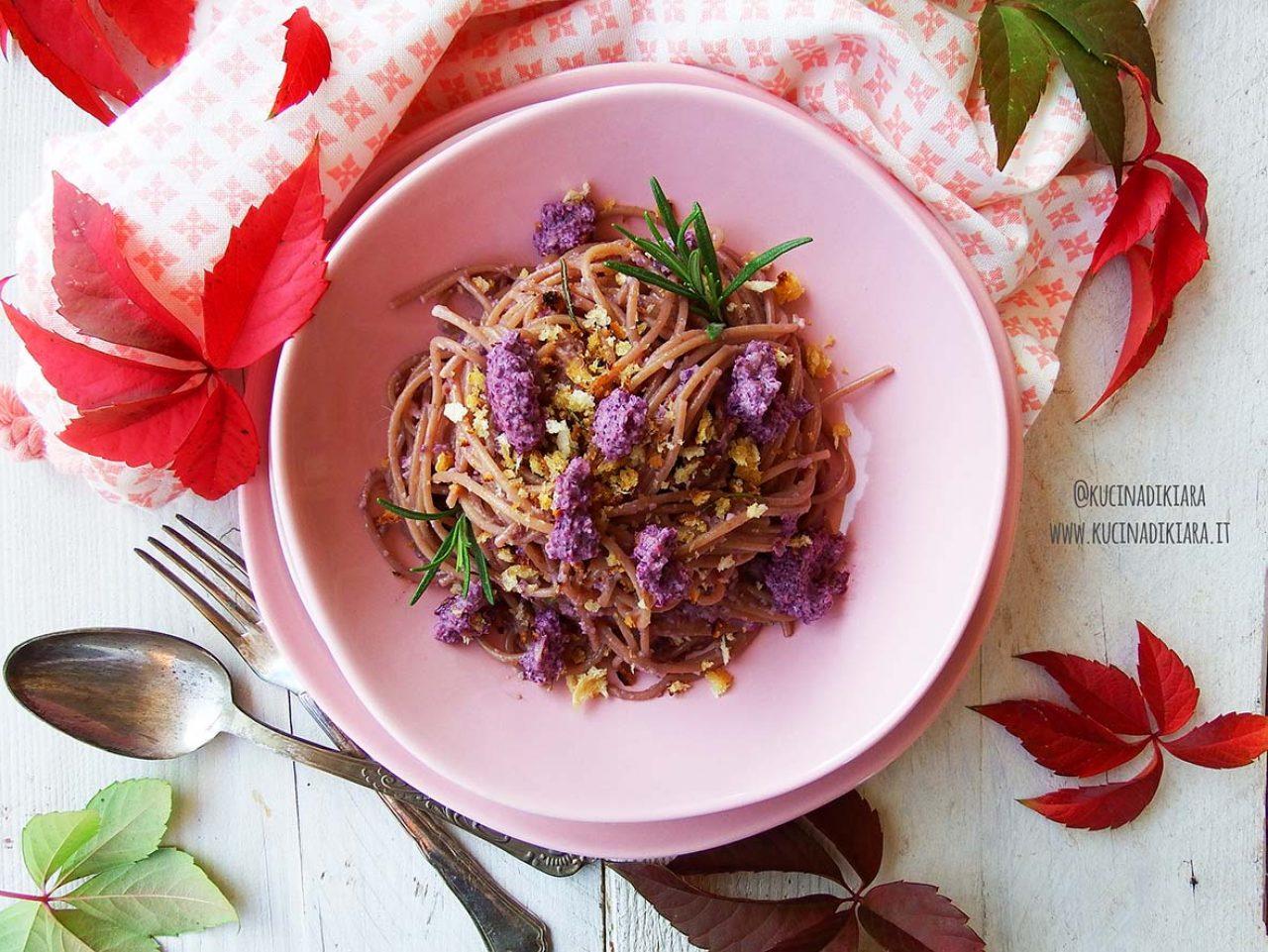 Kk3 Spaghetti Integr Pesto Cavolo Rosso Psd