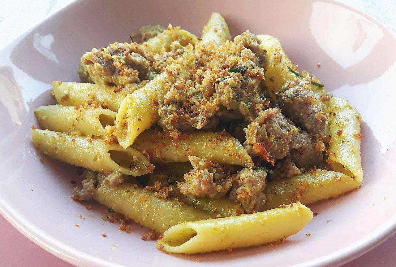 Pa1 Zita Con Pesto Di Fave E Salsiccia