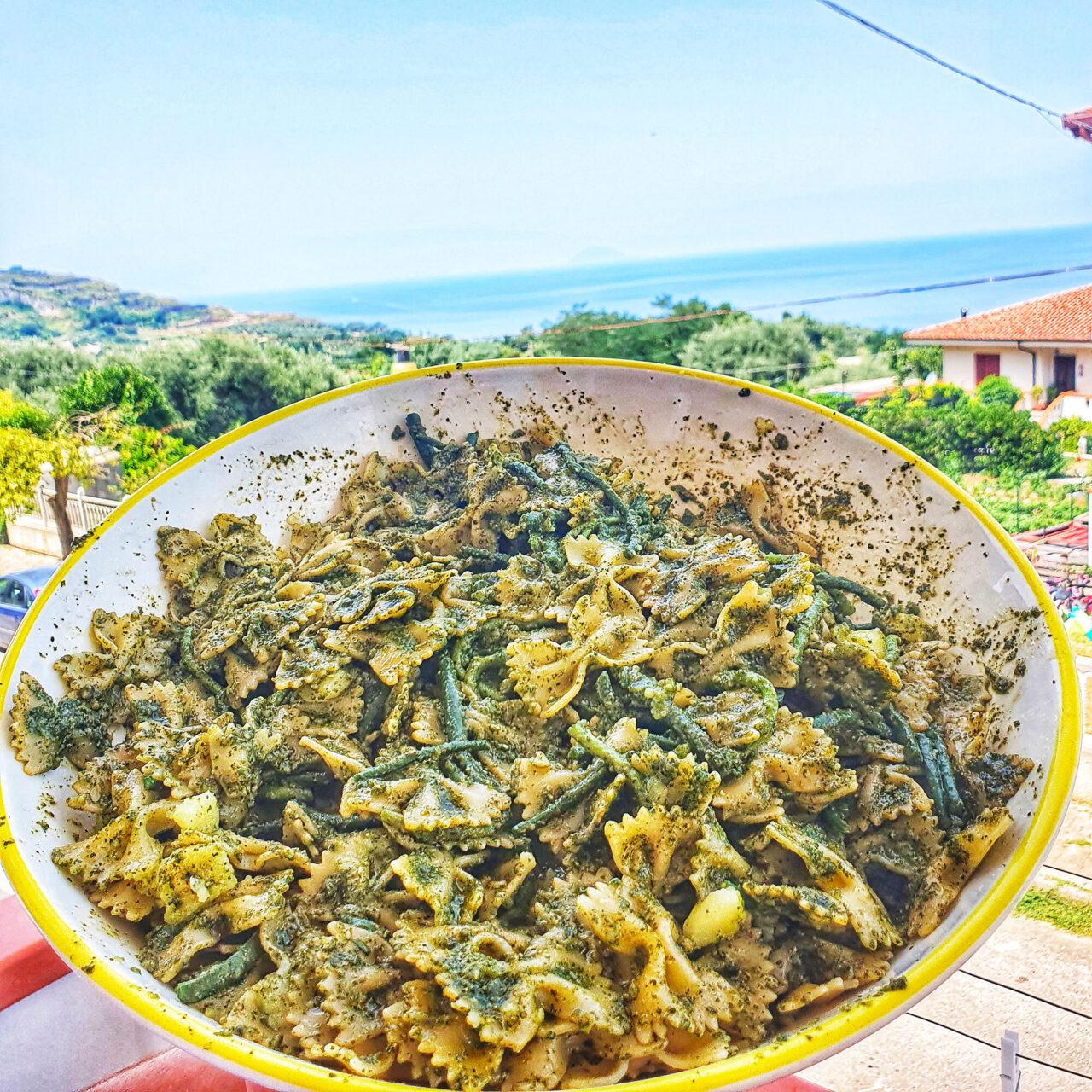 PASTA D'A...MARE - LIGURIA   La pasta al pesto di Piatti Tipici