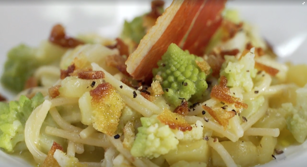 Minestra di pasta e broccoli