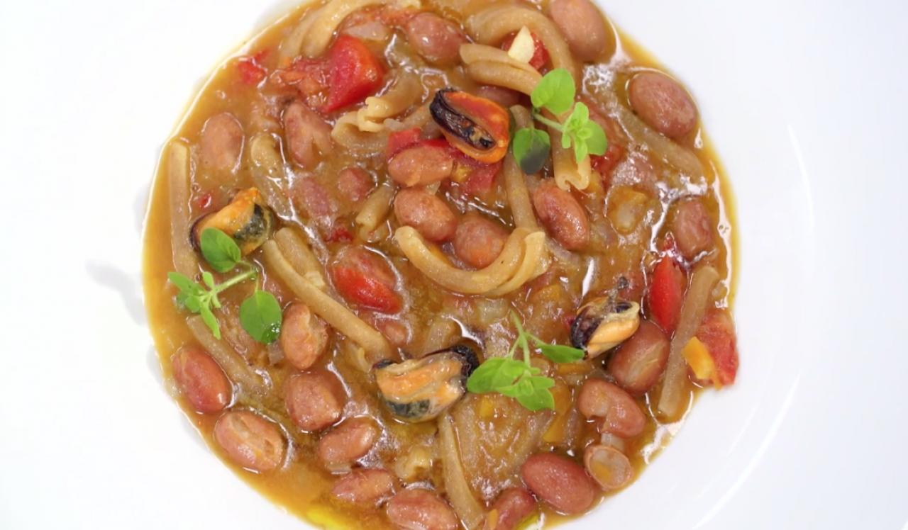 Pasta e Fagioli, Cozze e Curry