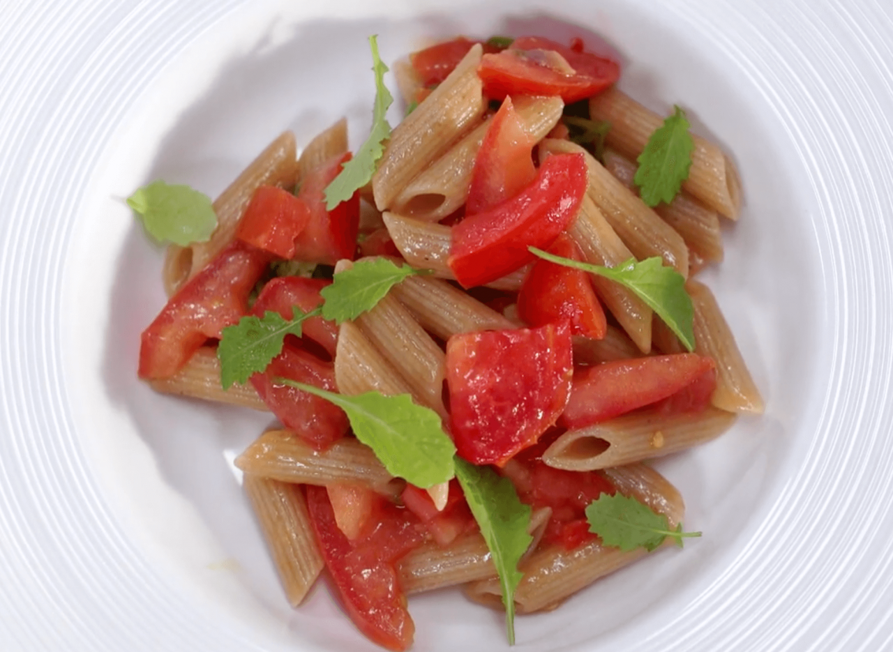 Penne muy calientes