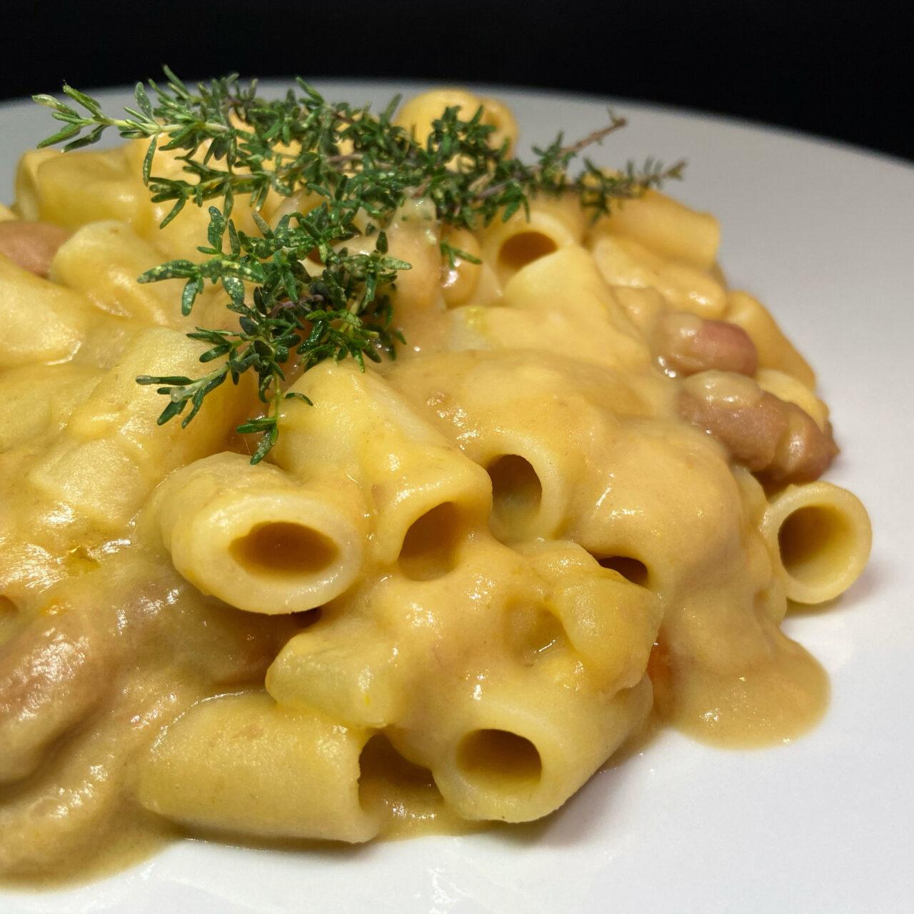 Cannerone Pasta Armando con patate e fagioli