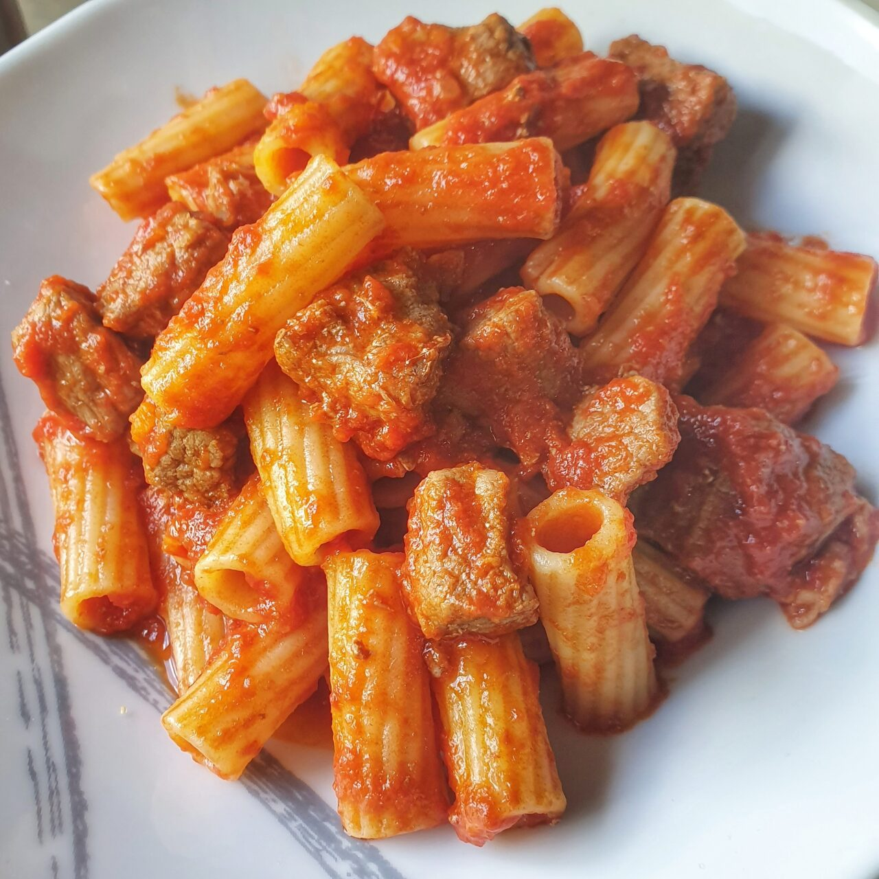 Pasta Con Ragù di manzo