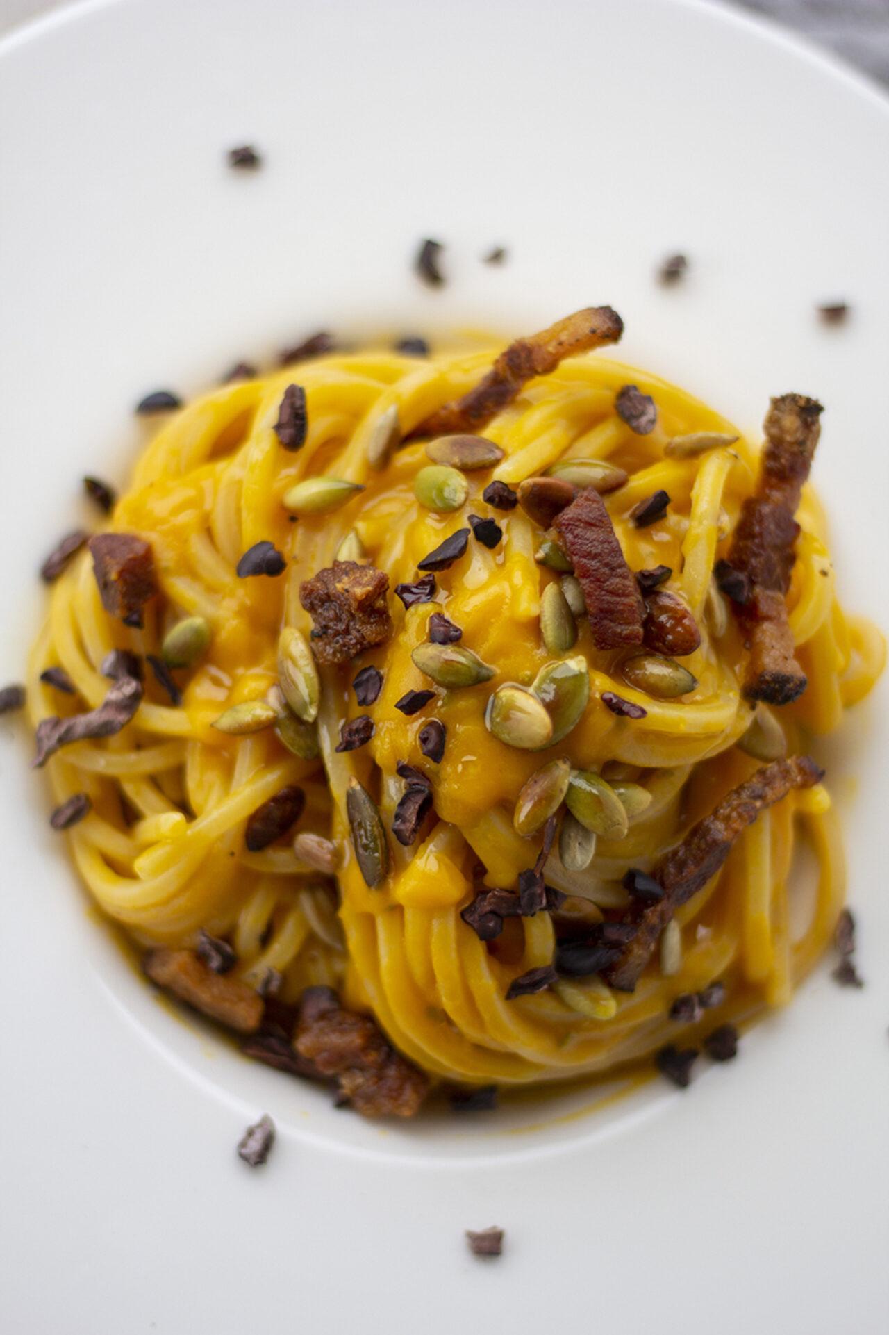 Ricetta spaghetti pasta armando zucca kucinadikiara