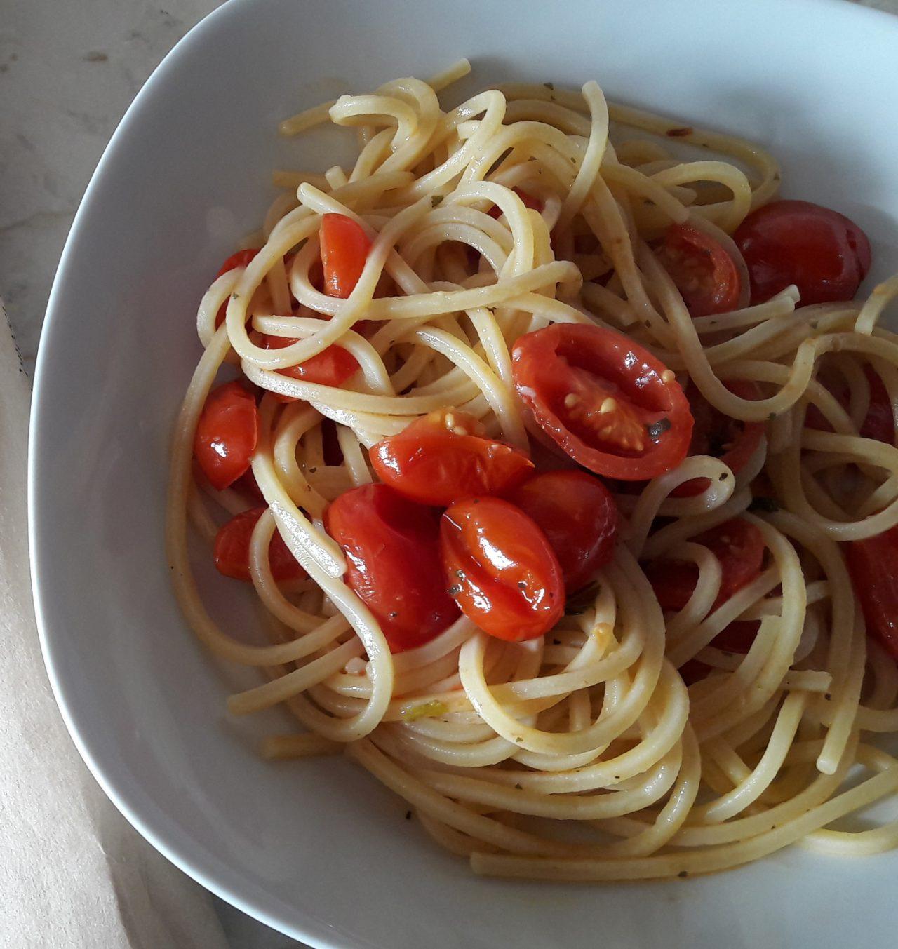"""Spaghetti alla chitarra """"sabaturniali"""""""