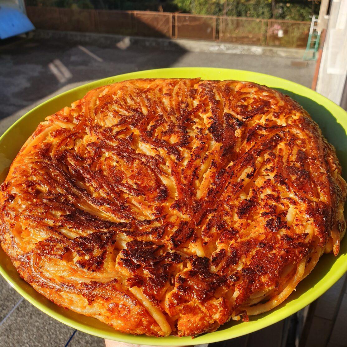 Ricetta frittata di maccheroni pasta armando annino ruocco piatti tipici2