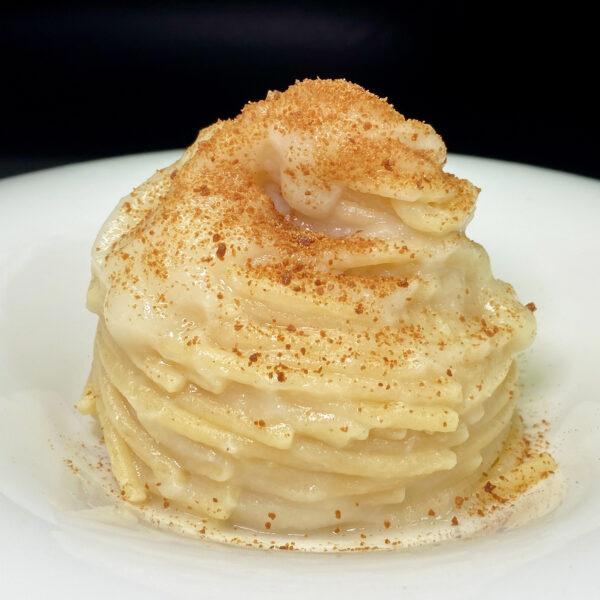 Spaghettone con cavolfiore e bottarga