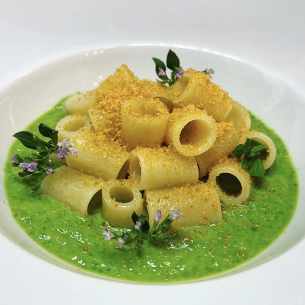 Canneroni Pasta Armando con broccoli e bottarga