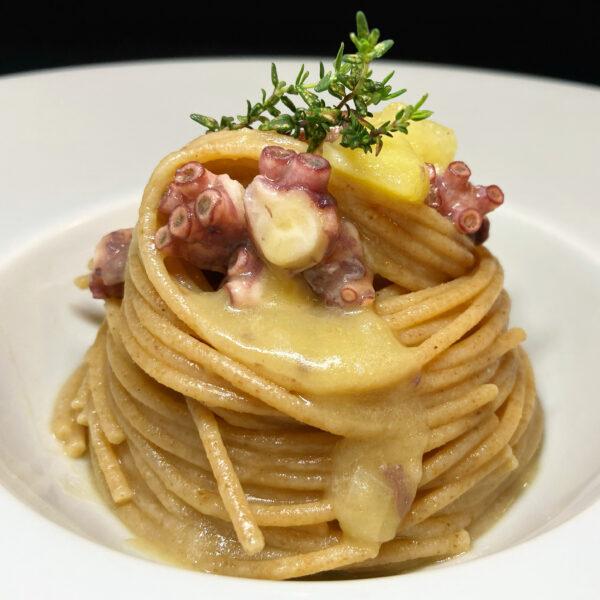 Spaghetto Integrale Bio Armando con polpo e patate