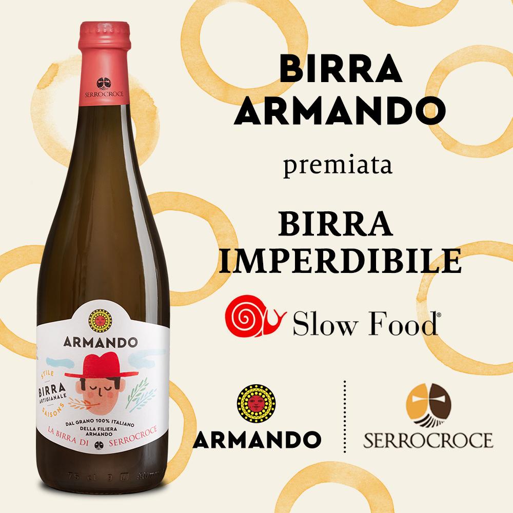 Armando e Serrocroce nella Guida alle Birre d'Italia di Slow Food