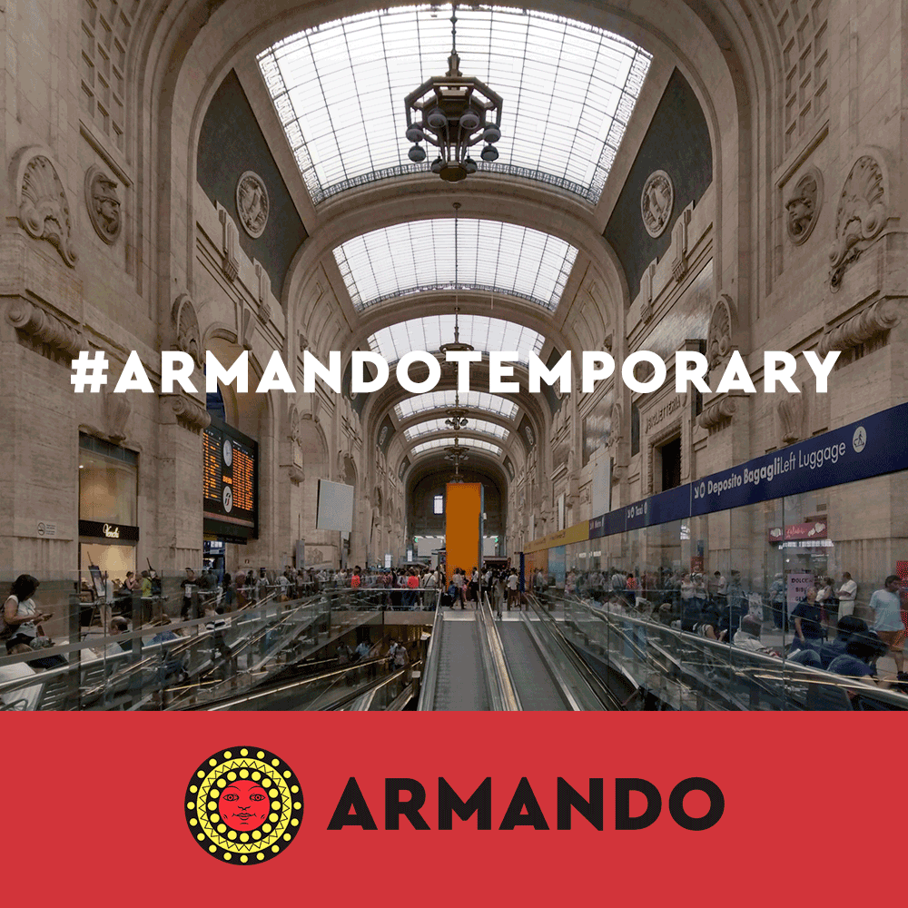 Pasta Armando opening at the Central Station in Milan