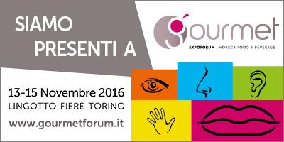 Pasta Armando presente al Gourmet Expo Forum (13-15 Novembre, Torino)